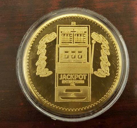 Vintage Las Vegas Nevada Jackpot Token Coin