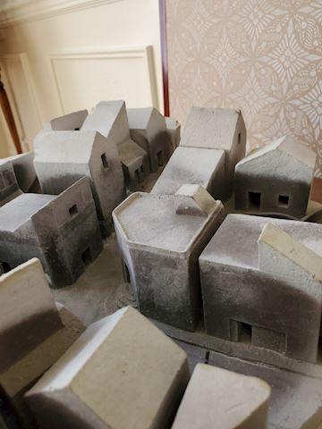 3D clay city model