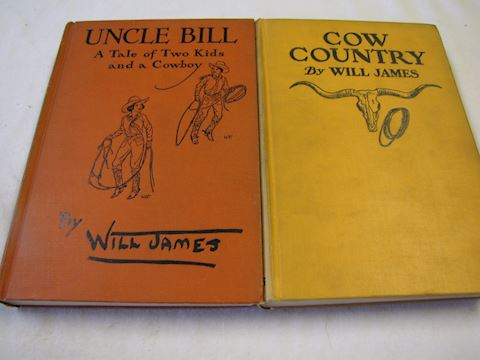 Will James Books from the 1920s-30s