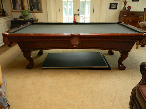 Pool Table with Ping Pong Board