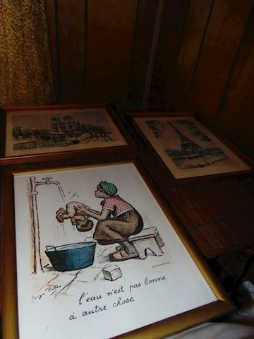Vintage French Lithos