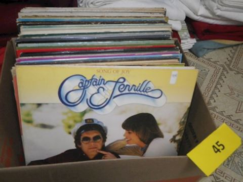 Lot #45 - Records (Basement)