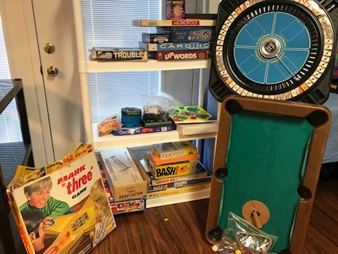 Assorted games lot
