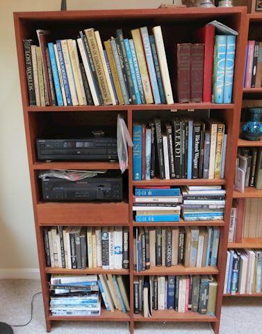 Mid Century Danish Teak Bookshelf