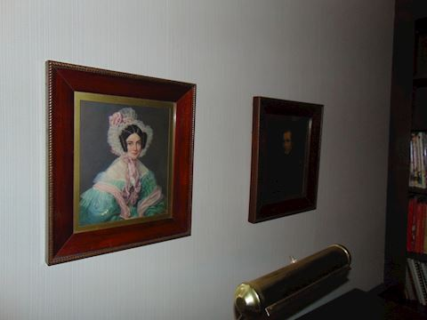 Framed Antique Portraits