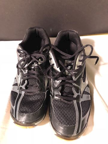 Blk silver running shoes, Mizuna, SZ 10