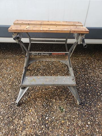 vintage black and decker workmate bench and vice