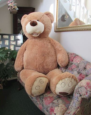 "70"" XLARGE PLUSH HUGFUN INT TEDDY BEAR SOFT CUDDLY"