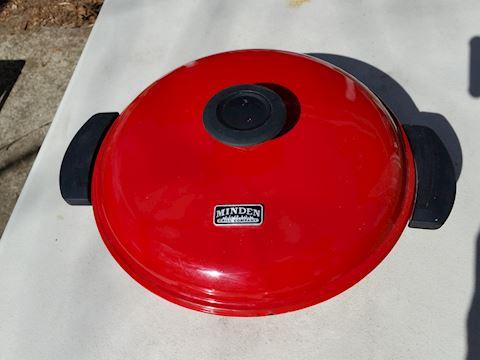 Minden stove top enamel grill