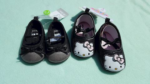 2 Pairs of Infant Shoes