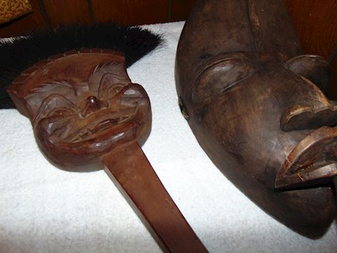 Carved African Masks