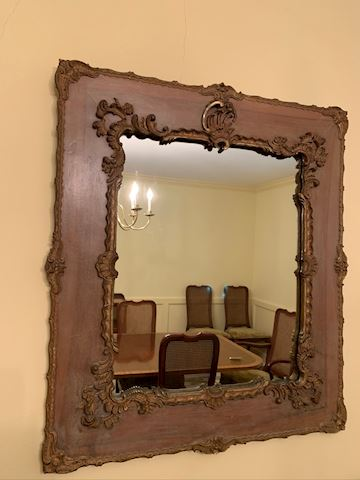 Hand carved antique Mirror