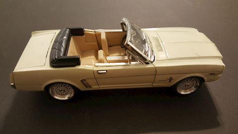 Vintage Mustang Model Car