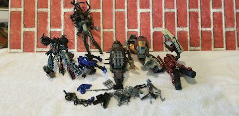 Misc plastic action figures