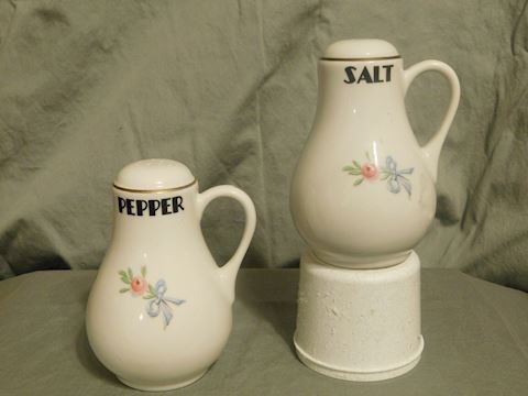 Hall Salt and Pepper