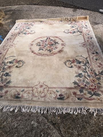 Large 9x7 foot Rug Lot 19
