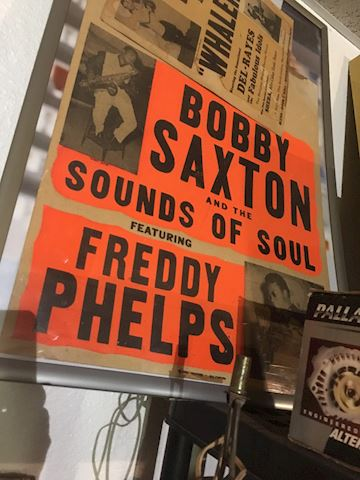 Bobby Sexton poster from the '60's