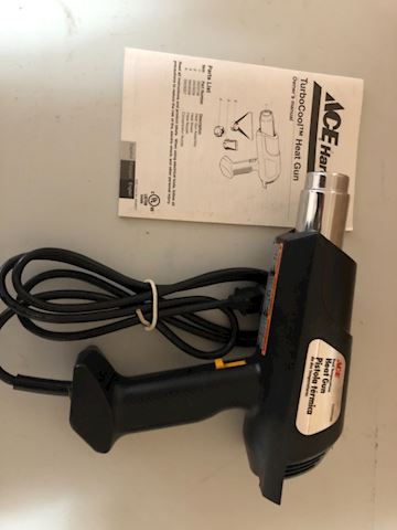 Heat Gun ACE hardware Turbo Control