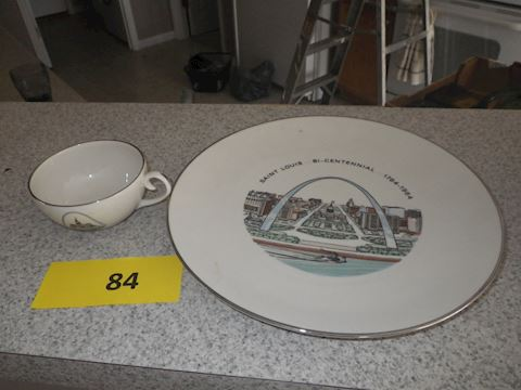 Lot #84 - STL Platter and More