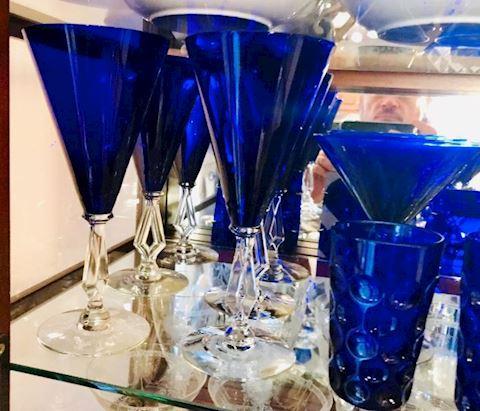 Cobalt Blue Art Moderne Deco Morgantown