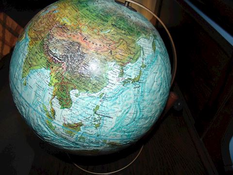 "Replogle 12"" Ocean Series Globe"