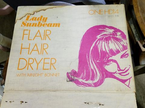Vintage Hair Dryer - works