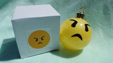 Emoji Ornament - 8
