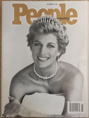 Princess Diana - People Magazine Cover Sept '97