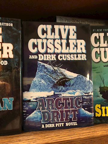 Clive Cussler Books - 54 Total