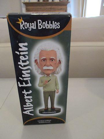 Einstein Bobble Head