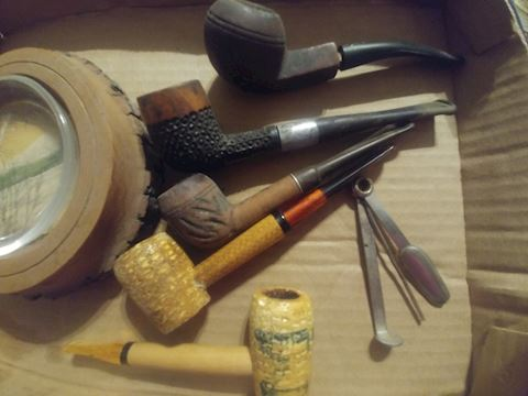 COLLECTOR ASHTRAY, AND PIPES