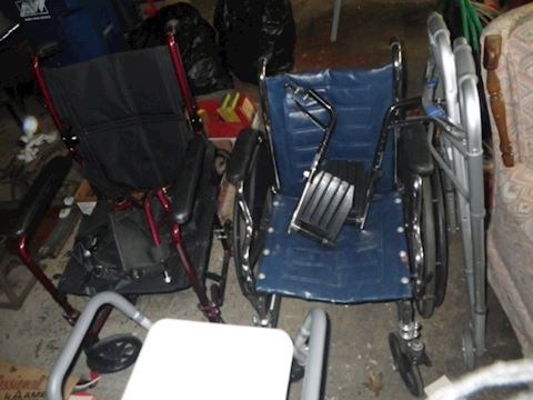 Wheel Chair, Transport Chair, and Shower Chair