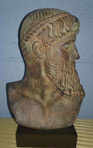 Signed Zeus bust