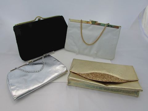 Vintage Eveing Purses Lot of 4
