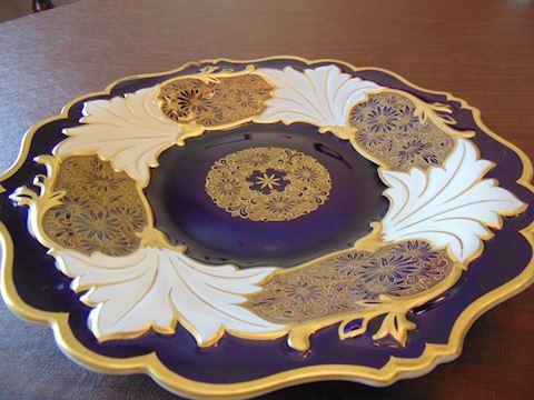 Echt-Weiner Kobalt Plate