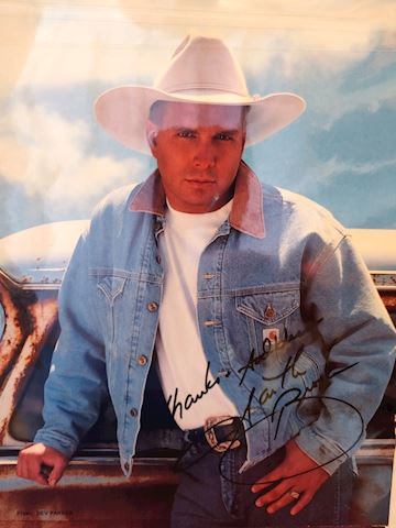 Garth Brooks Autograph