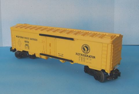 9819 ** WESTERN FRUIT EXPRESS BOX CAR -1981