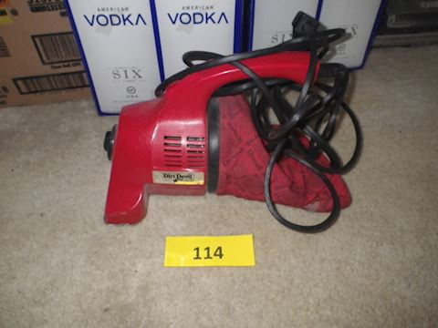 Handheld Dirt Devil Vacuum