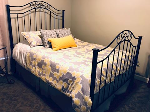 Stone County Ironworks Queen Bed Head & Footboard