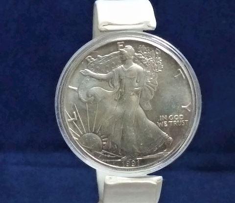 1991 Silver Eagle Dollar #127