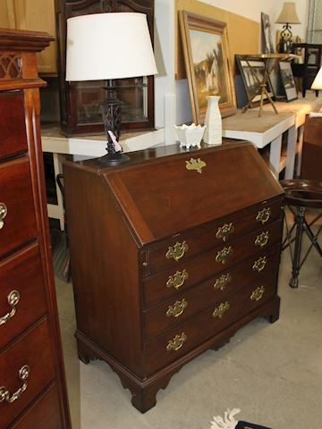 Kittinger Chippendale Secretary Cabinet