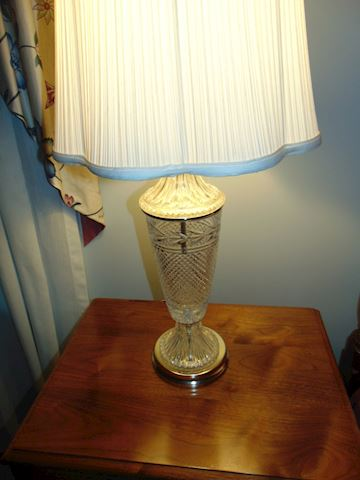 Vintage Crystal Lamps