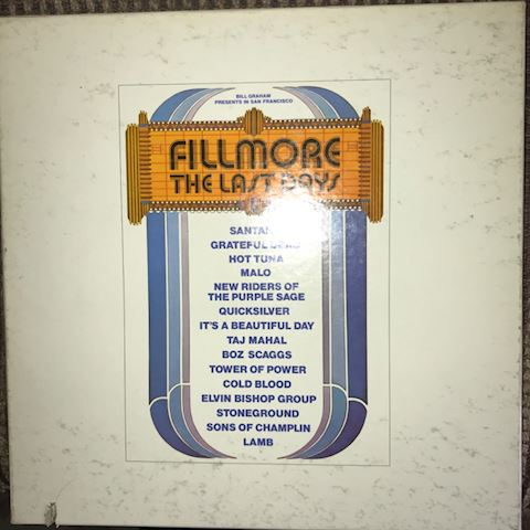 The Fillmore  Last Days