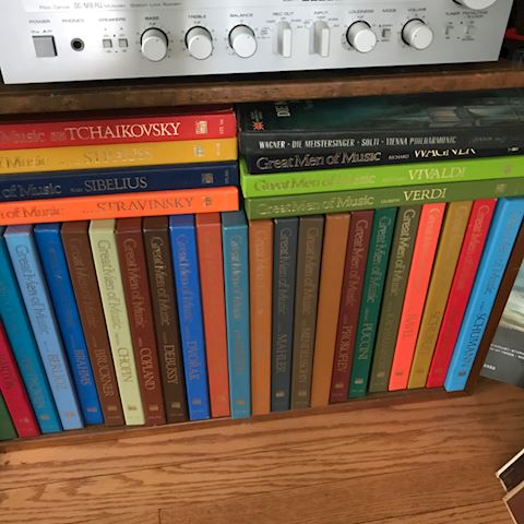 Classical sets and albums