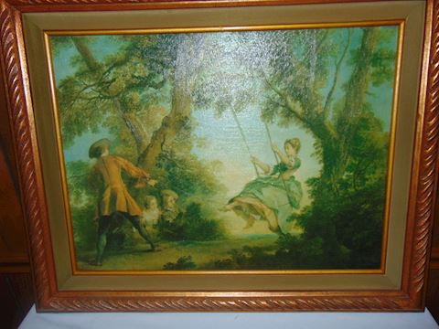 Antique original oil