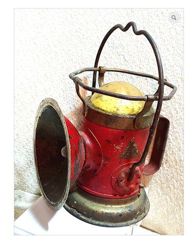 Antique Railroad Lantern