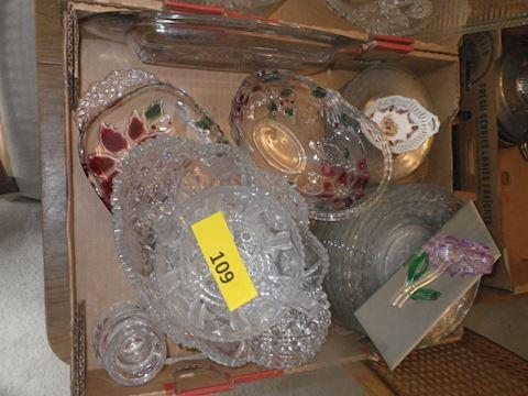 Lot #109 - Clear Glass