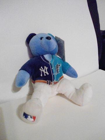Florida Marlins/New York Yankees Beanie Bear
