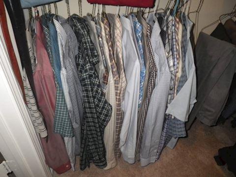Content of Mens closet