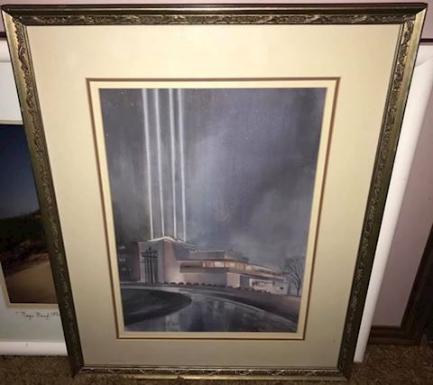 J.R. HAMIL KANSAS CITY ARTIST SIGNED